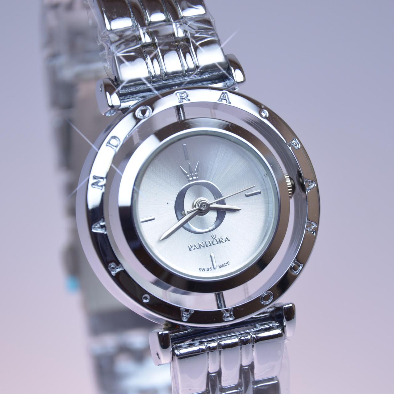 7320b1f64670 Женские часы PANDORA (Пандора) B160 Silver с вращающемся циферблатом ...