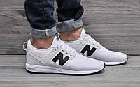Мужские кроссовки New Balance 247 RevLite (белые), ТОП-реплика        , фото 1