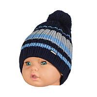 Детская шапка вязаная для мальчика