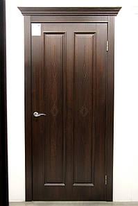 Дверь межкомнатная СТЕЛЛА ГЛУХОЕ С ГРАВИРОВКОЙ