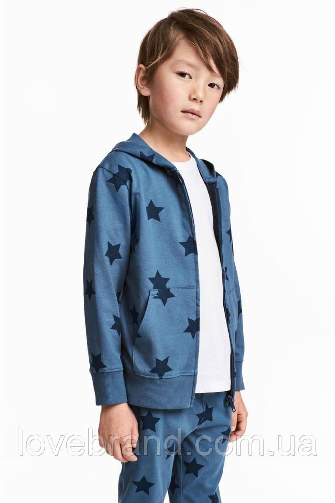 """Спортивный костюм """"Star"""" H&M для мальчика синий 8-9 л./134 см"""