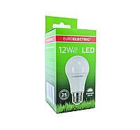 LED Лампа Euroelectric A60 12W E27 4000К, фото 1