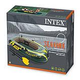 Intex надувний човен 68347 Seahawk 2 Set 236x114 комплект, фото 4