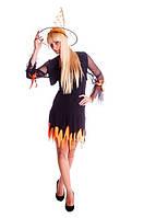 Ведьмочка женский карнавальный костюм