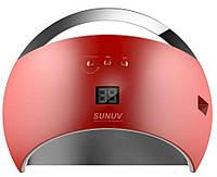LED/UV Лампа SUN-6 гибридная (с дисплеем) красная 48 Вт