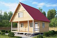 Что такое двускатная крыша дома?