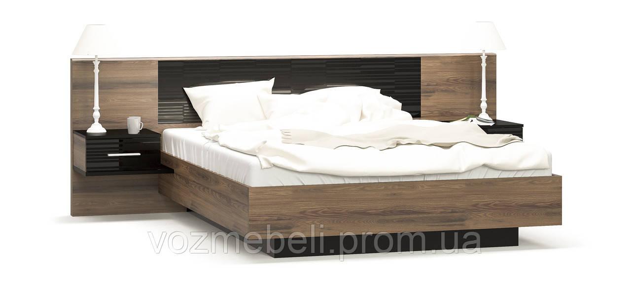 Кровать Фиеста 1,6 + ламель (МС)