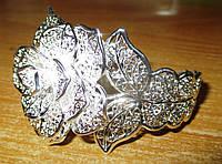 """Шикарный серебряный  браслет """"Роза пустыни"""" от студии LadyStyle.Biz, фото 1"""