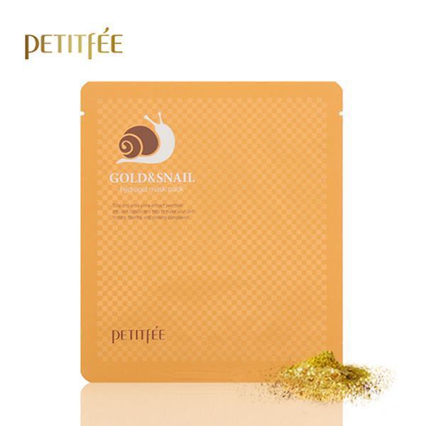 Гидрогелевая маска с золотом и улиткой Petitfee Gold & Snail Hydrogel Mask