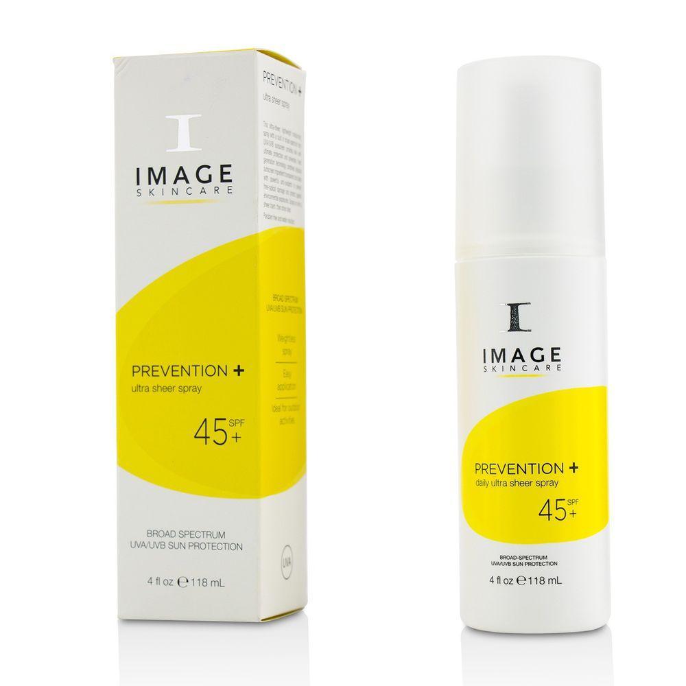 IMAGE Skincare Солнцезащитный ультра легкий спрей Prevention SPF 45+, 118 мл