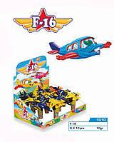 Драже с игрушкой Самолет 12 шт Aras