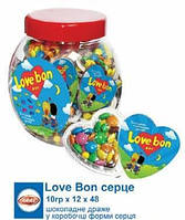 Шоколадное драже Love Bon 10 гр 48 шт Aras
