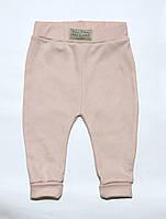 """Дизайнерские штаны для девочки """"Fashion Collection Andriana Kids"""" для девочки бежевый 68 см"""