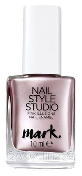 """Лак для ногтей """"Дизайн-студия. Розовая иллюзия"""", Avon Mark, цвет Metallize Me - Розовый металлик, Эйвон, 01902"""