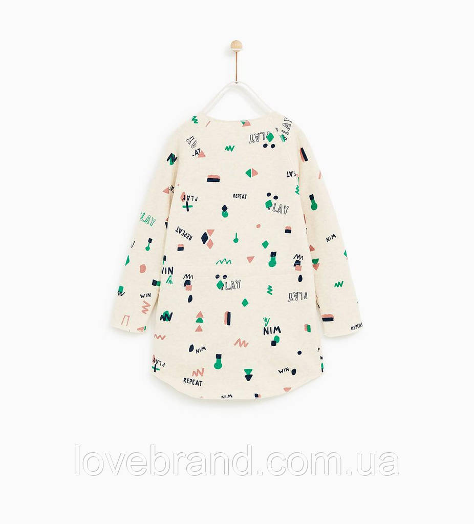 Платье утепленое Zara для девочки 11-12 л./152 см