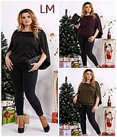 От 42 по 74 размер женская блузка 770679 осенняя батал весенняя большого размера чёрная горчичная баклажановая