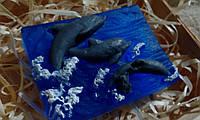 """2Д мыло для рук """"Дельфины"""", фото 1"""