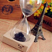 Декоративные стеклянные часы Magnet Hourglass
