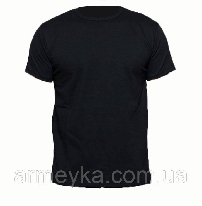 Термофутболка потоотводящая черная/T-shirt coolmax black, UA. НОВАЯ.