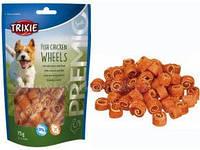 Trixie TX-31748 PREMIO Fish Chicken Wheels 75гр - лакомство для собак   с курицей и рыбой