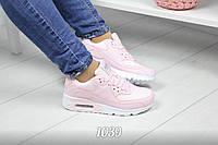 Женские кроссовки пудра Air Pink
