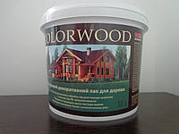 Копия Colorwood Цветной лак для дерева 10л.