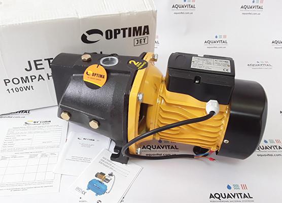 Поверхностный бытовой насос Optima JET 100–PL