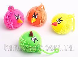 """Йо-йо светящийся """"Angry Birds"""", в ассортименте"""