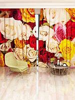 Фотоштора Цветочное ассорти (2260_1_1)