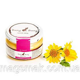Крем-мед Huny Buny с цветочной пыльцой 250 г