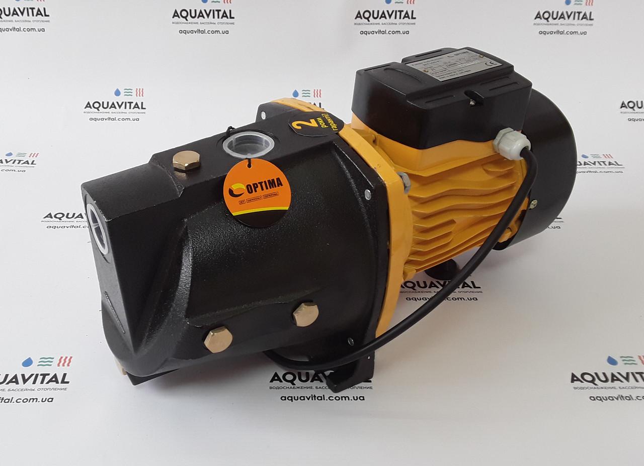 Поверхностный насос Optima JET 100–PL (длинный) рабочее колесо из термопласта