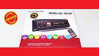 Автомагнитола Pioneer 1581BT Bluetooth Usb+RGB подсветка+Fm+Aux+ пульт (4x50W), фото 1