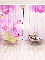Фотоштора Фиолетовая орхидея (4779r_1_1)