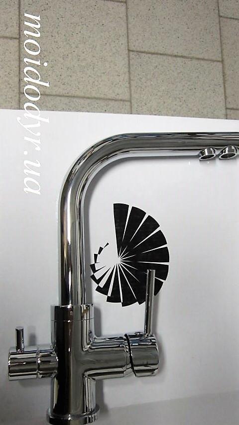 Смеситель AquaSanita  Akvaduo 2663 (хром) с подключением к водному фильтру
