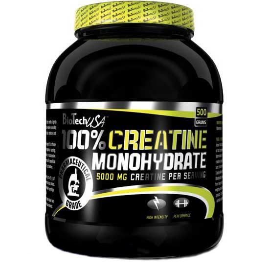 100% Creatine Monohydrate (банка) / Креатин Моногидрат 500 г