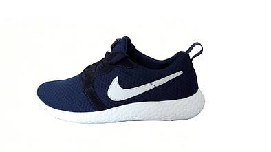 Женские спортивные кроссовки Nike Roshe Run  синий