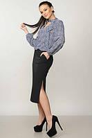 Блуза женская Кенди синяя, фото 1