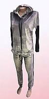 Велюровый спортивный костюм (2302/7)