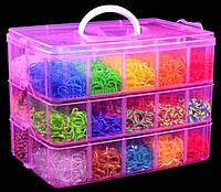 Набор резинок для плетения 10000шт. (плетение браслетов)