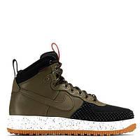 "Кроссовки Nike Lunar Force 1 Duckboot ""Army Green/Black"" Арт. 1627"