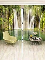 Фотоштора Панорама водопада (2352_1_1)