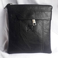 Черная мужская сумка , фото 1