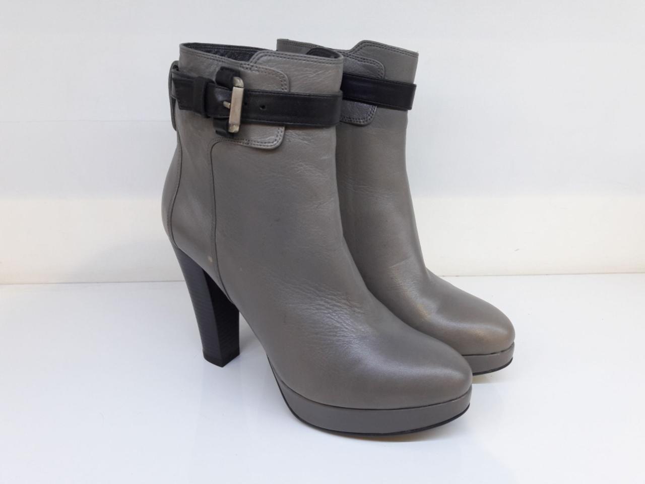 Ботинки  Etor 1786 серые