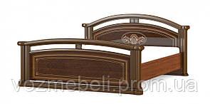 Кровать Алабама 1,6 + ламель (МС)