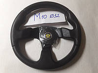 Руль Спортивный SIK M10 черный Турция  Лада ,Таврия ,Ваз,Ланос,Самара,опель