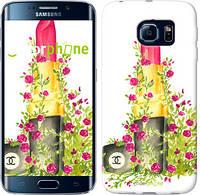 "Чехол на Samsung Galaxy S6 Edge G925F Помада Шанель ""4066c-83-8088"""