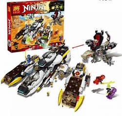 """Конструктор """"Внедорожник с суперсистемой маскировки"""" Аналог Lego Ninjago 70595"""