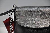 Черный клатч кожаный 0154-0928