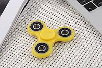 Спиннер с 4 металлическими подшипниками желтый Антистресс Hand Spinner