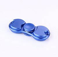 Спиннер синий алюминиевый Антистресс